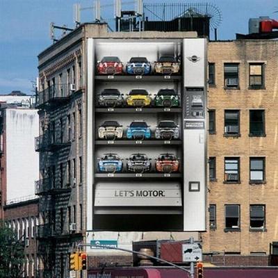 Рекламный баннер с машинами